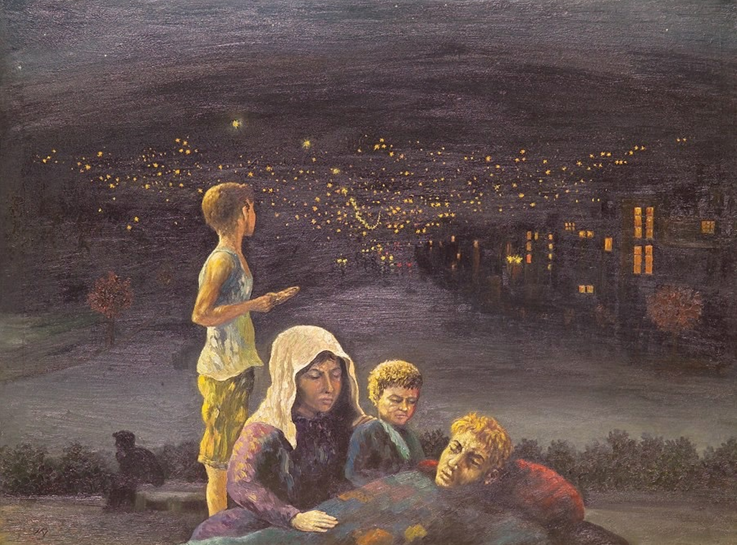 """""""The refugees"""", Adham Ismail"""
