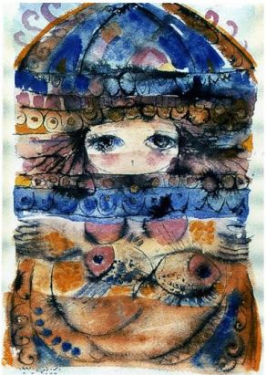 Artwork by Asmaa Al Fayoumi