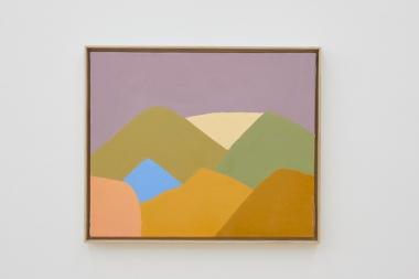 Œuvre par Etel Adnan (Galerie Sfeir-Semler)