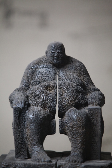Sculpture de Khaled Dawwa