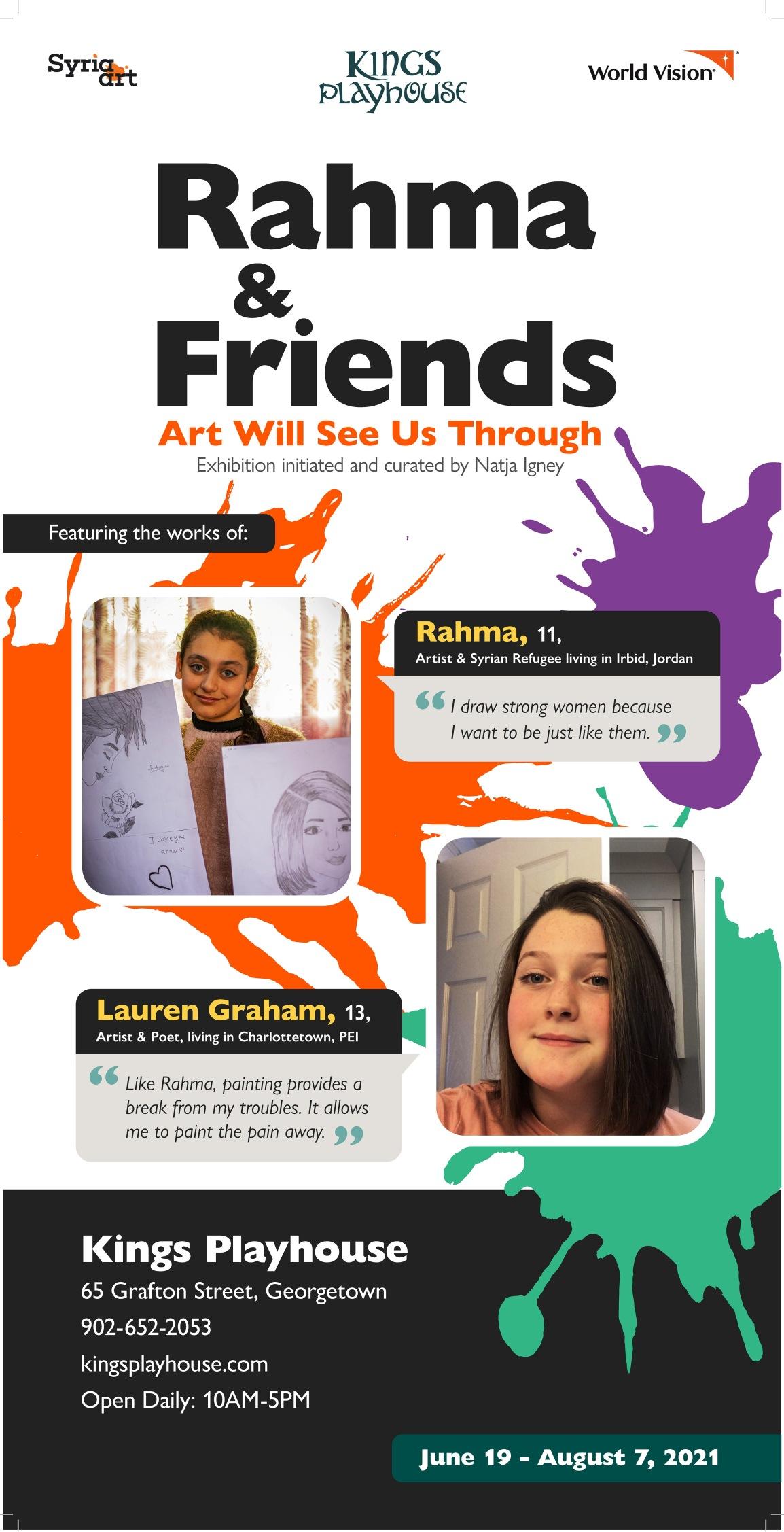 Rahma & Friends – Art Will See UsThrough